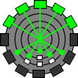 ラチェット&クランク スパイシリンダー BBステーション