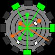 ラチェット&クランク スパイシリンダー 惑星バタリア