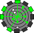 ラチェット&クランク スパイシリンダー 惑星ポクタル