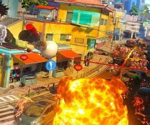 Sunset Overdrive Sunset Overdrive 4種類の武器が収録されたダウンロードコンテンツが配信開始!