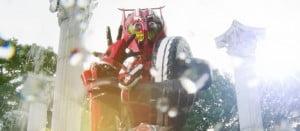 仮面ライダードライブ 劇場版「仮面ライダードライブ サプライズ・フューチャー」 ベンツを原型とした「ネクストライドロン」が登場!