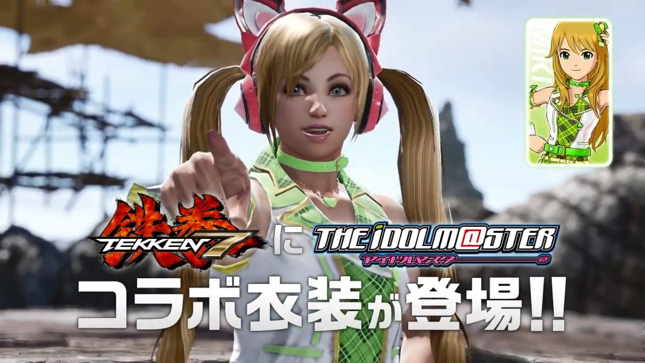 鉄拳7 アイドルマスター ラッキークロエ × 星井美希