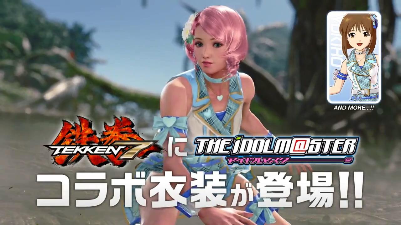鉄拳7 アイドルマスター アリサ × 萩原雪歩