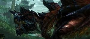 モンスターハンターX(クロス) 鋭利で巨大な尻尾を持つ獣竜種「ディノバルド」公開!