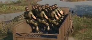 MGS5:TPP 水鉄砲の使い道や、車の敵兵へのホールドアップなど、検証動画第3弾公開!