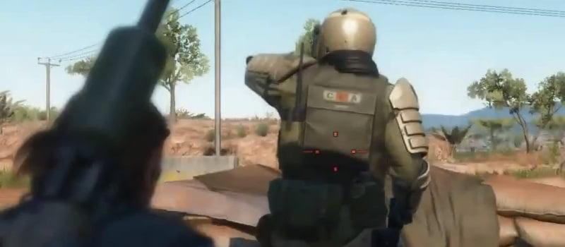MGS5:TPP 全身装甲兵士