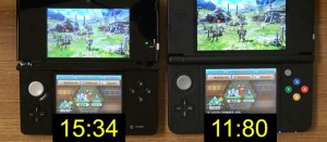「3DS」と「New3DS」、公式からロード時間比較動画が公開!MHXを使用して実験!
