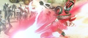 仮面ライダー バトライドウォー 創生 仮面ライダー バトライド・ウォー 創生 ブラック、オーズ、バース、フォーゼ、メテオのゲーム画面公開!