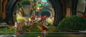 PS4「ラチェット&クランク THE GAME」 ゲームは30fpsで動作、フレームは安定!