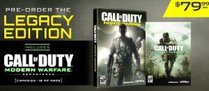 COD:IW 国内向け発売日、仕様が判明!PS4版だけが展開確定へ