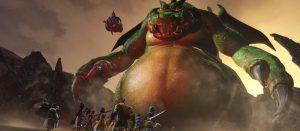 DQH2 超巨大モンスター戦や、強敵四天王のゲーム画面が公開!