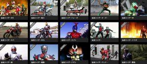 dtvで仮面ライダーの動画、51種類が6/1より配信決定!初回は1ヵ月無料!