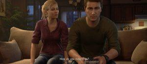 【ちょいバレ注意】アンチャーテッド4、あの名作がゲーム中に登場する