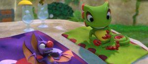 「Yooka-Laylee」 インターフェイス入りのプレイ動画、バンカズ思い出すボイスも収録