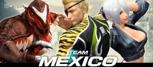 KOF14 メキシコチーム「ラモン」「アンヘル」「キング・オブ・ダイナソー」プロフィールが公開!