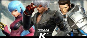 KOF14 ケーダッシュチーム「K'」「クーラ・ダイアモンド」「マキシマ」プロフィール