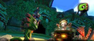 「Yooka-Laylee」 シュールなサブキャラや広いステージが堪能できるプレイ動画