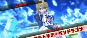 Fate/EXTELLA 青セイバーこと「アルトリア・ペンドラゴン」のアクションプレイ動画が公開!