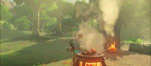 「ゼルダの伝説 ブレスオブザワイルド」 サバイバル、変化する天候などを収録した動画