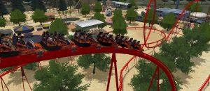 PSVR対応「ローラーコースタードリームズ」 自分で遊園地を作り、歩いて回れる!ジェットコースターも作れる!