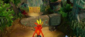 PS4「クラッシュバンディクー」 やはりあれがゲーム画面だった!1にはタイムアタック追加!