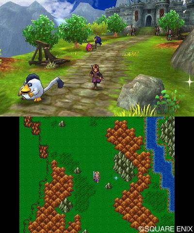 DQXI, DQ DQ11、3DS版とPS4版の比較としても使える公式スクショ!主人公、エマ、カミュを紹介!