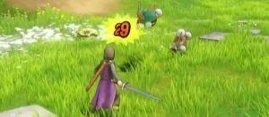 DQ11 戦闘はリアルタイム、自由移動&好きなタイミングで攻撃可能?ドラゴンに乗った移動などプレイ動画が公開!