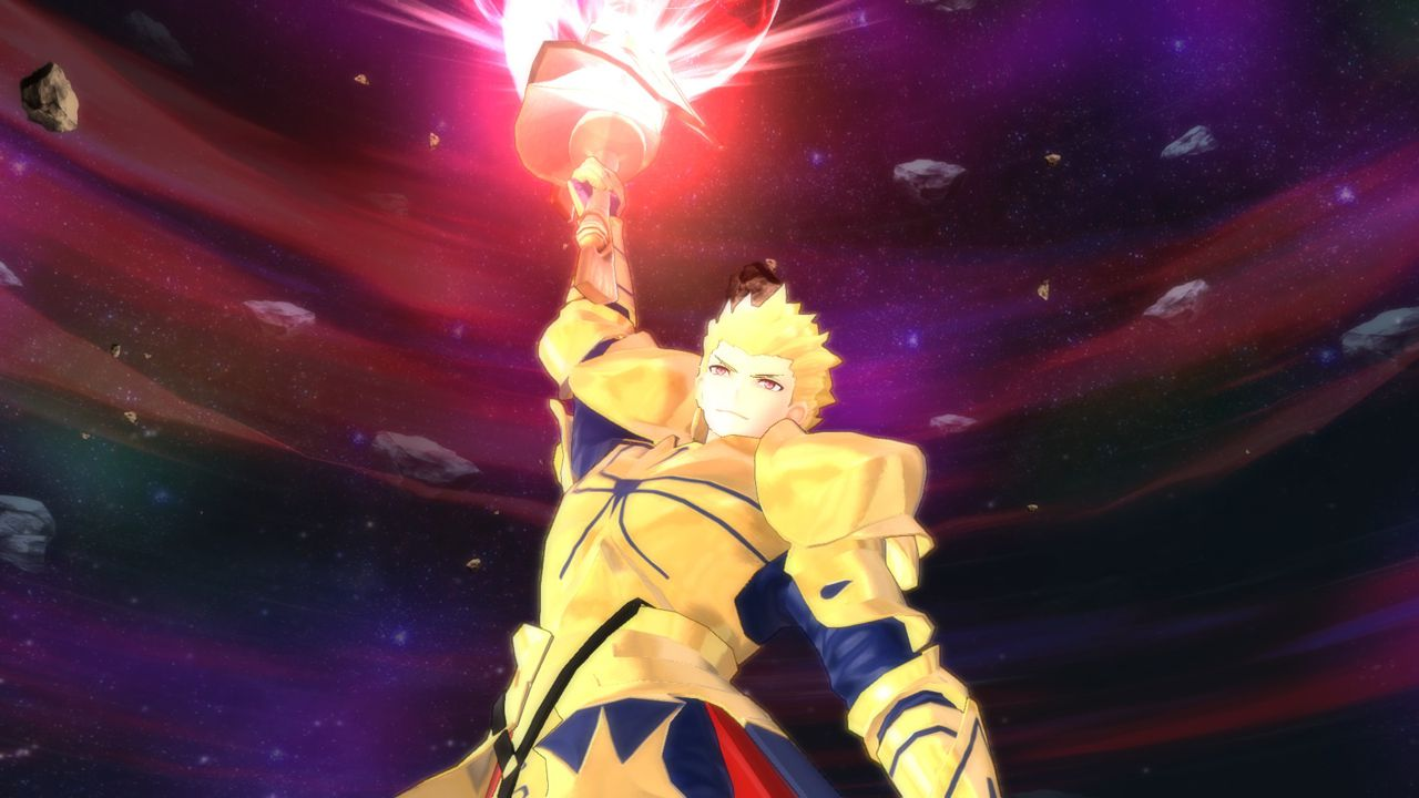 Fate/EXTRA Fate/EXTELLA Fate/EXTELLA DLC第5弾「stay night衣装」では、青セイバー・無銘・ギルガメッシュが配信!