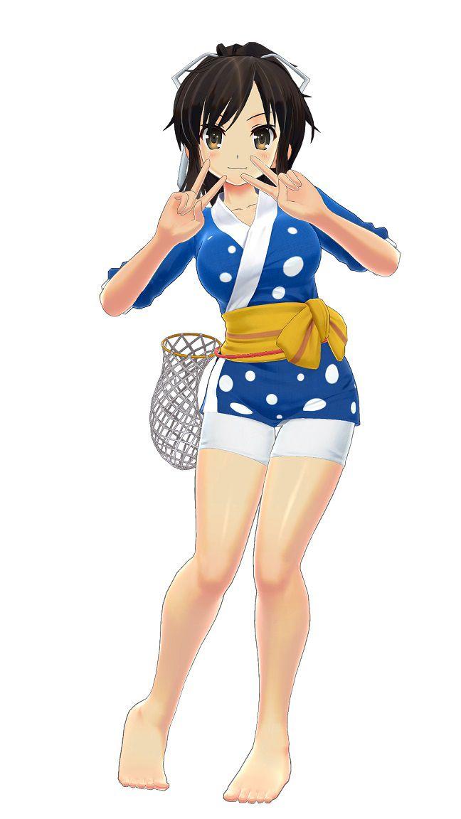 閃乱カグラPBS 「閃乱カグラPBS」 PS Storeの予約特典&限定版が登場!「常夏キャミソール」などの特別衣装あり