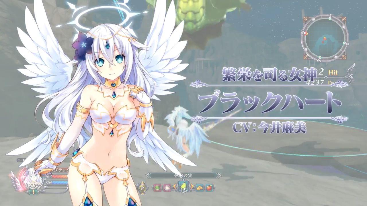 四女神オンライン 「四女神オンライン」 操作も可能な女神様たちの必殺技集的動画公開!