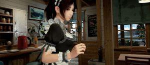 「サマーレッスン」 喫茶店で宮本ひかりちゃんのメイド服が拝めるDLC第3弾が配信開始!