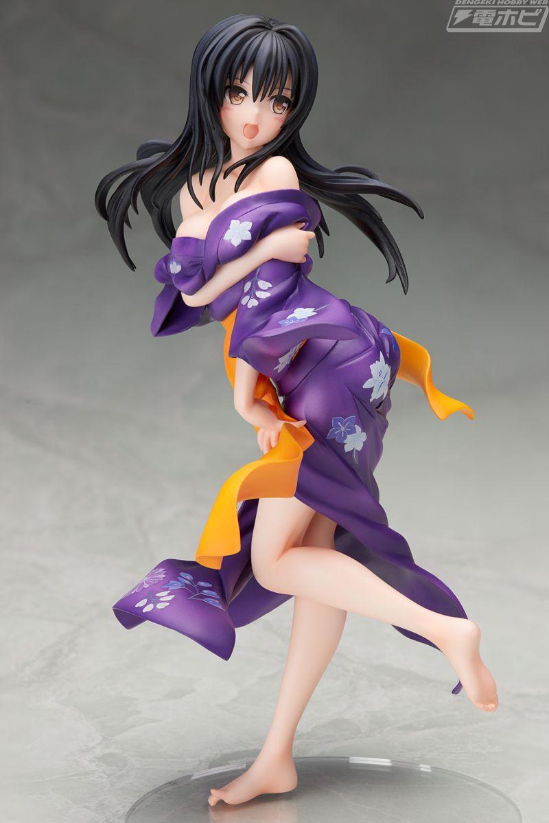 To LOVEる 古手川唯の浴衣姿がフィギュアで登場!はだけっぷりがセクシー!【ToLOVEるダークネス】