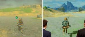 「ゼルダの伝説 ブレスオブザワイルド」 NS版とWiiU版の比較動画、全体的に見栄え良くなってる?