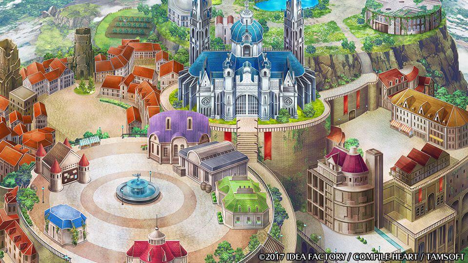 四女神オンライン 「四女神オンライン」冒険者の拠点ウィシュエルにある施設が追加公開!セーブは大聖堂で行う模様!