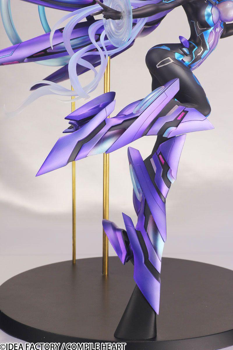 ネクストパープル様の着色版フィギュア写真公開!全長約30cmの巨大立体化!【ネプテューヌ】