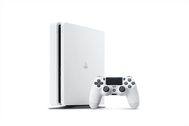 カラー PS4本体カラーに「グレイシャー・ホワイト」登場!薄型のみ発売、Proは未発表。