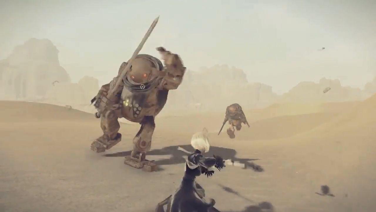 ニーア オートマタ, ニーア PC版ニーアオートマタの発売日は3月10日頃!武器ごとの戦闘シーンに特化した華麗なPV