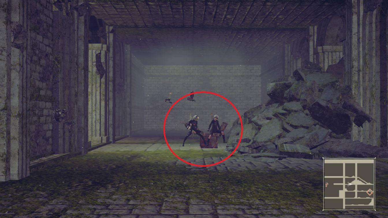 ニーア オートマタ, ニーア 【攻略】ニーアオートマタ 「お城の宝探し」宝場所、扉の場所とか