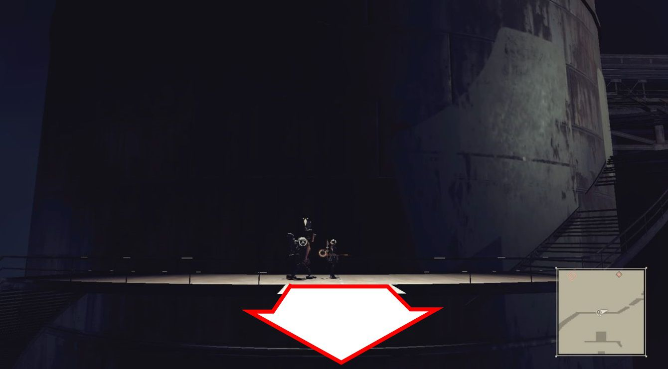 ニーア オートマタ ニーア 【攻略】ニーアオートマタ ひのきのぼう&エンジンブレードの入手場所