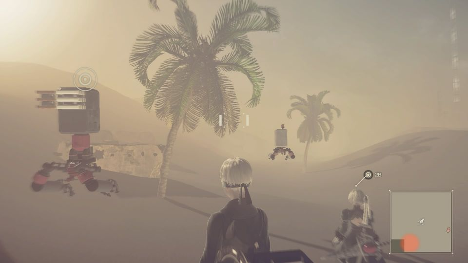 ニーア オートマタ ニーア 【攻略】ニーアオートマタ 「写真」問題は砂嵐を抜けた先に目的地があることか