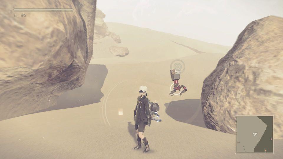 ニーア オートマタ ニーア 【攻略】ニーアオートマタ 「砂の遺産」で見つけ出す4つのアイテムの場所