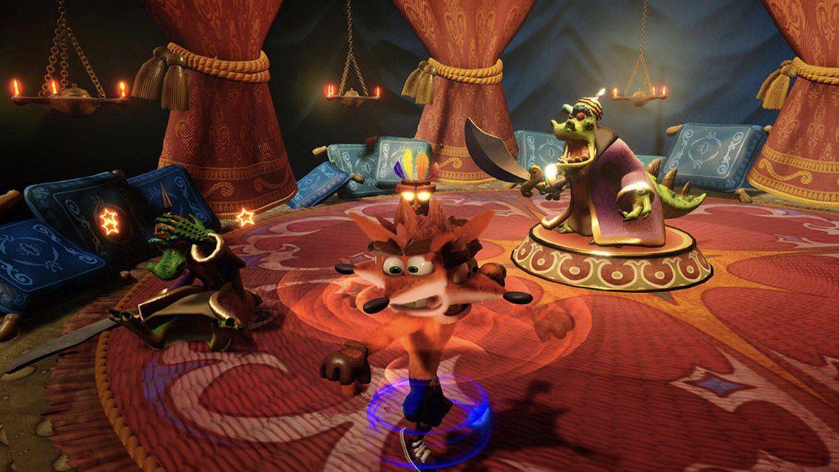 クラッシュバンディクーPS4, クラッシュバンディクー リマスター「クラッシュバンディクートリロジー」 クラッシュ2含む、美麗な新ゲーム画面公開!