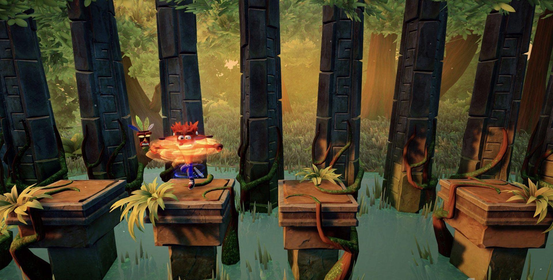 クラッシュバンディクーPS4 クラッシュバンディクー リマスター「クラッシュバンディクートリロジー」 クラッシュ2含む、美麗な新ゲーム画面公開!