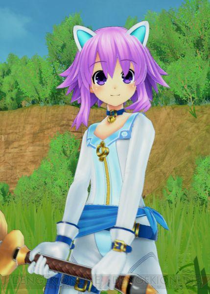 四女神オンライン 四女神オンラインDLC衣装 「白猫スーツ」が電撃プレイステーションVol.632に付属!