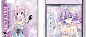 四女神オンライン, ベール, ブラン 「四女神オンライン」のスマホケース4種類が登場!今回はブラン、ベールVerもある