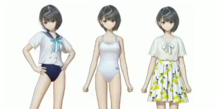 ブルーリフレクション ブルーリフレクション「キャラクターパーフェクトファイル」「プレイヤーズナビゲーター」発売!制服×スク水など、3種類のコスチュームDLCが付属!