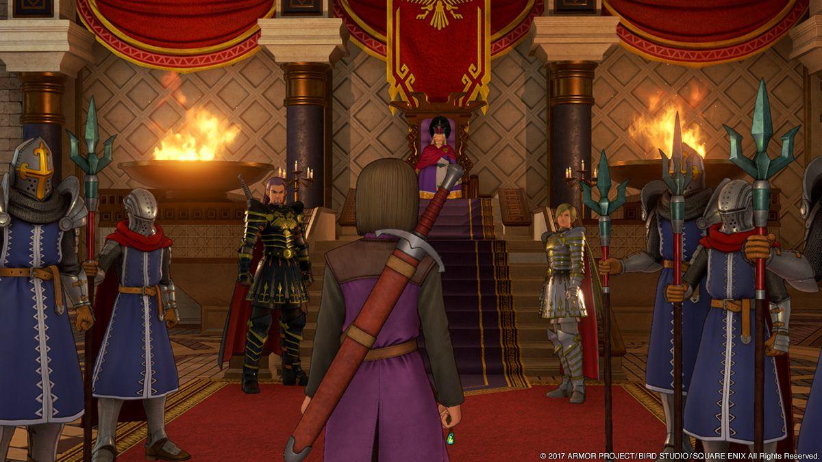 DQXI, DQ DQ11「勇者は悪魔の子である」王軍からもモンスターからも逃げるハメになった主人公たち