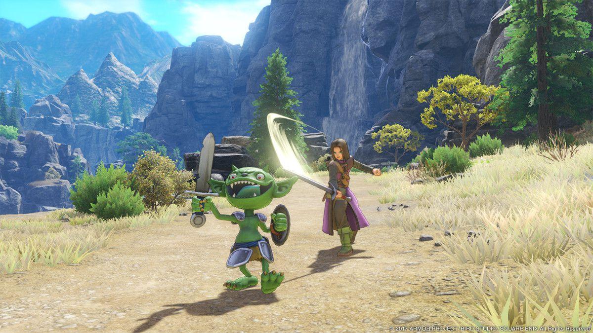 DQXI, DQ DQ11 PS4版は「フリー移動」「オートカメラ」、3DS版は「3Dか2D」とぞれぞれ2との戦闘タイプあり!