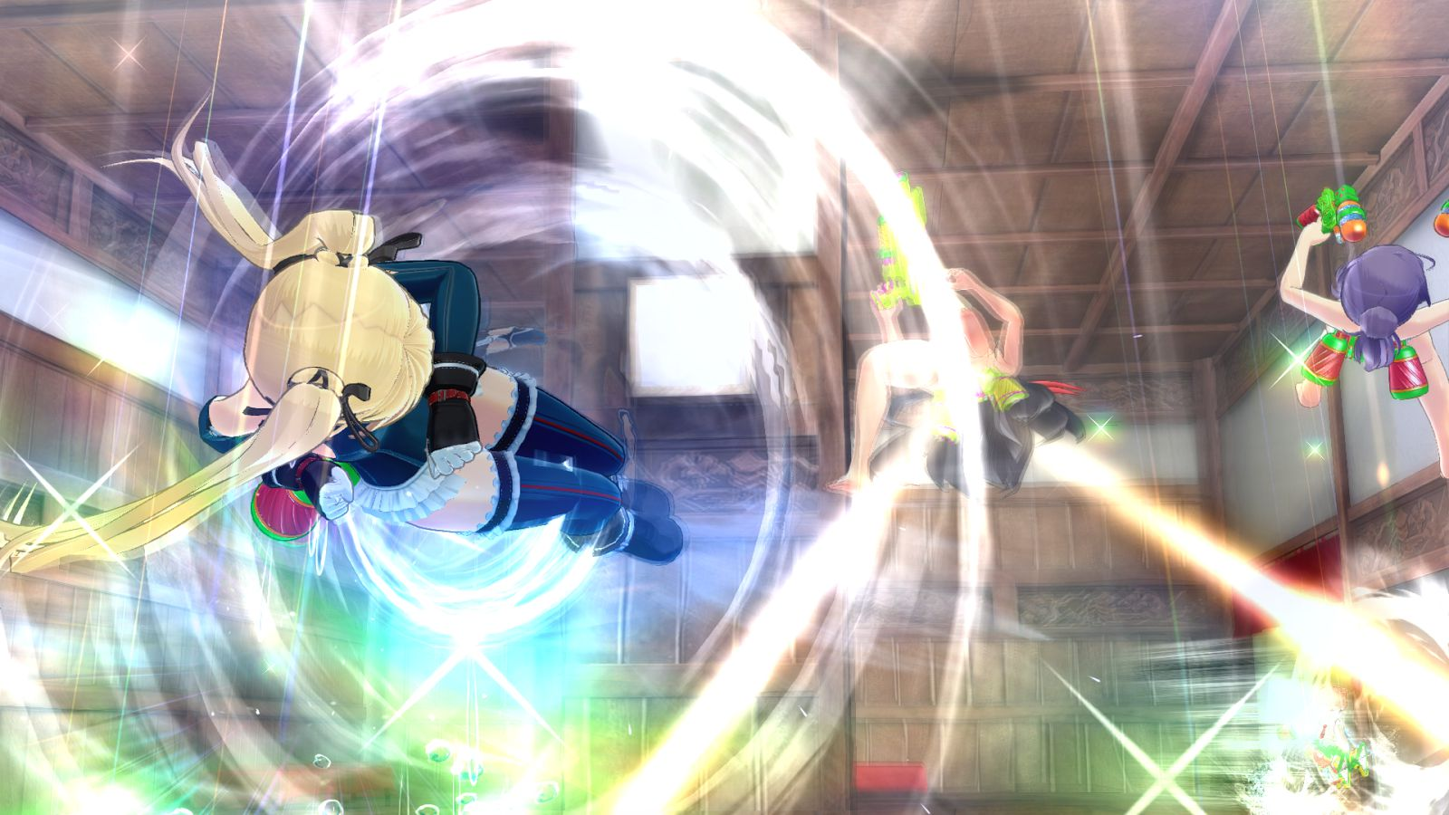 閃乱カグラPBS, マリーローズ, ほのか 閃乱カグラPBS DLC第3弾マリーの戦闘服やほのかの制服など、多数の追加アイテムの画像多数!