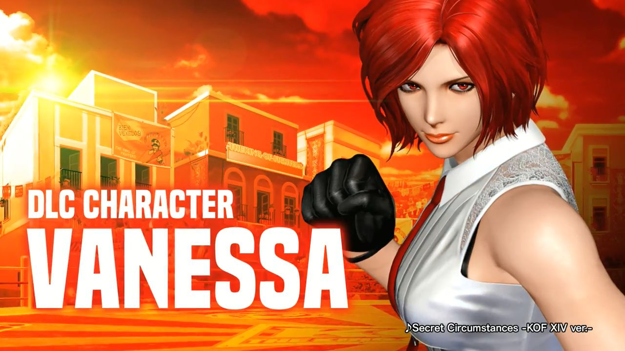 巨乳, THE KING OF FIGHTERS XIV, THE KING OF FIGHTERS KOF14 DLCキャラクター「ヴァネッサ」参戦!巨乳三十路人妻キャラ
